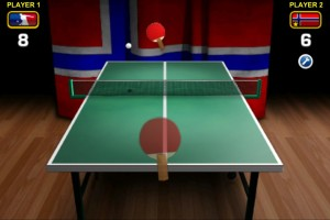 World Cup Table Tennis Gameplay