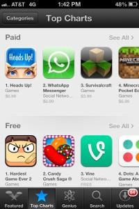 App Store Top Charts