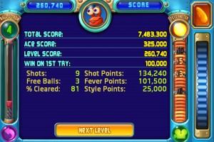 Peggle Scores