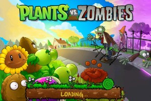 plants vs zombies title screen iphone