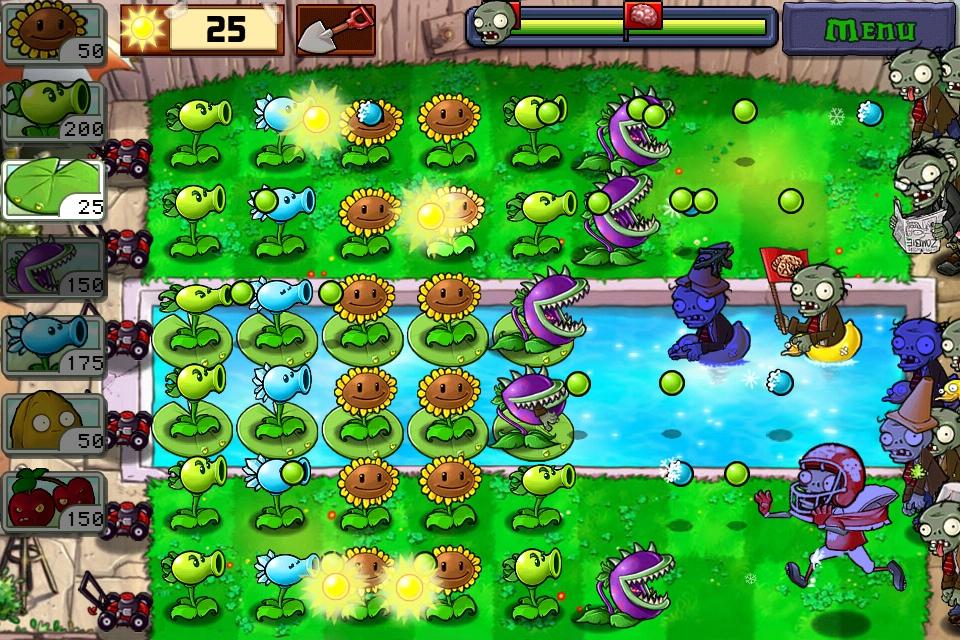 """Képtalálat a következőre: """"plants vs. zombies gameplay"""""""