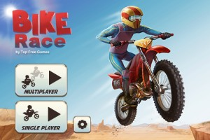 Bike Race Pro Title Screen