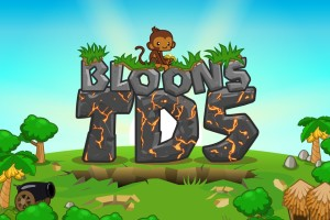 Bloons Tower Defense 5 Title Screen
