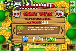 Bloons Tower Defense 5 High Score
