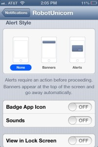 Manage Notifications on iPhone, iPad or iPod Touch