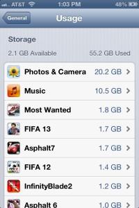 iPhone App Usage