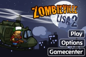 Zombieville USA 2 Title Screen