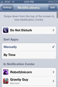 iPhone Notifications