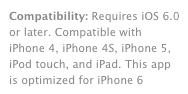 iMovie iPhone 6