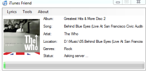 Automatically Add Lyrics To iTunes with iTunes Friend