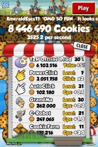 Cookie Clicker iOS Upgrades