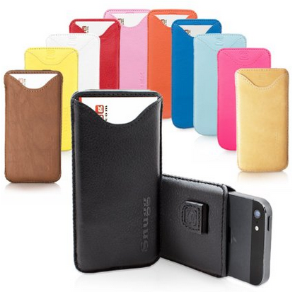 Snugg Leather iPhone Pouch